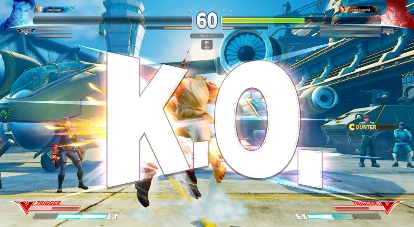 Street Fighter V Cammy VS Ryu 5