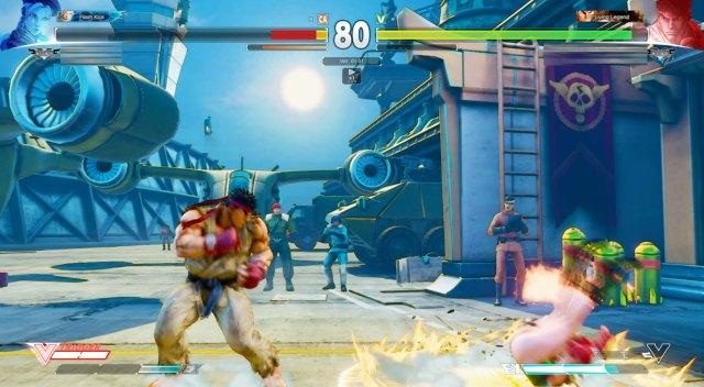 Street Fighter V Cammy VS Ryu 7
