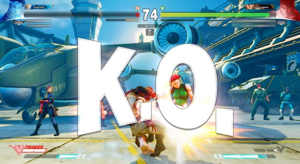 Street Fighter V Cammy VS Ryu 8