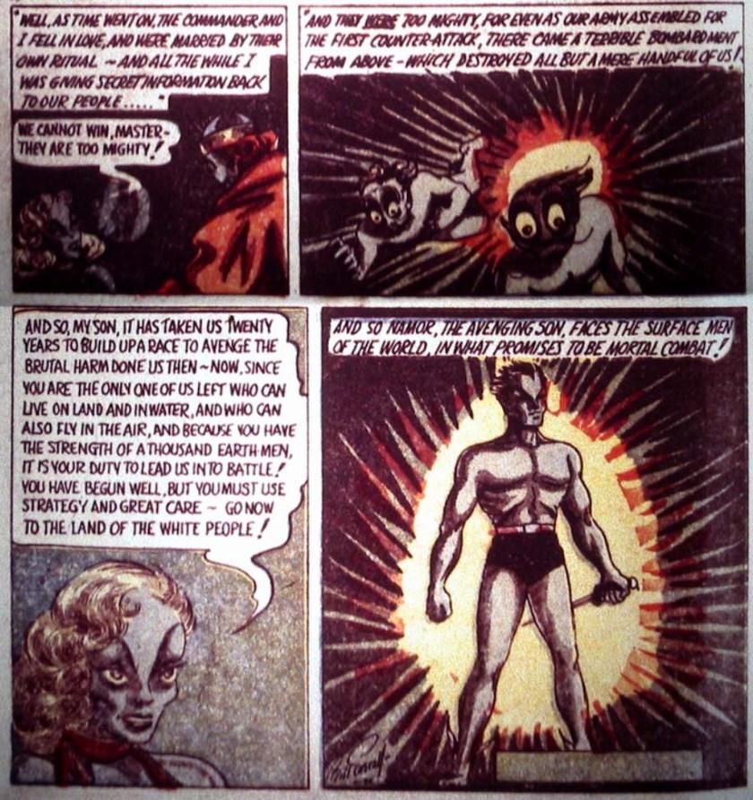 Sub-Mariner 4 Marvel Comics 1