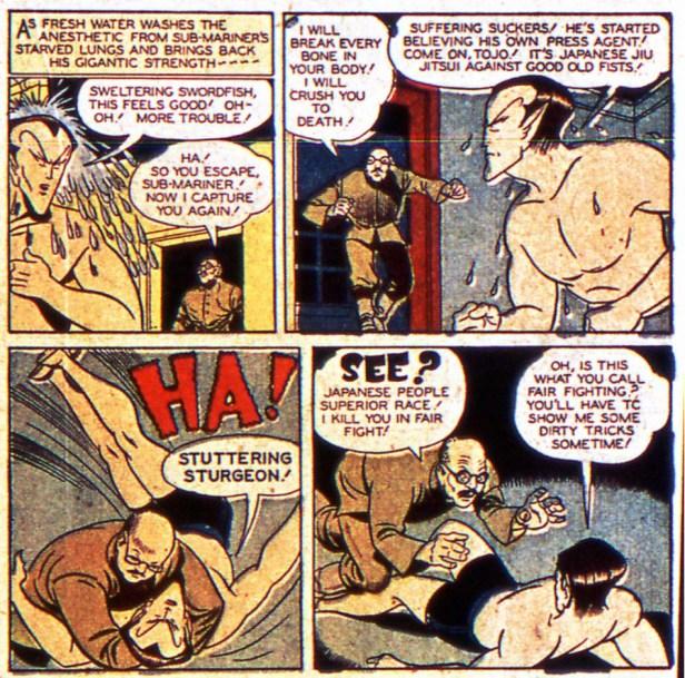 Sub-Mariner war comics
