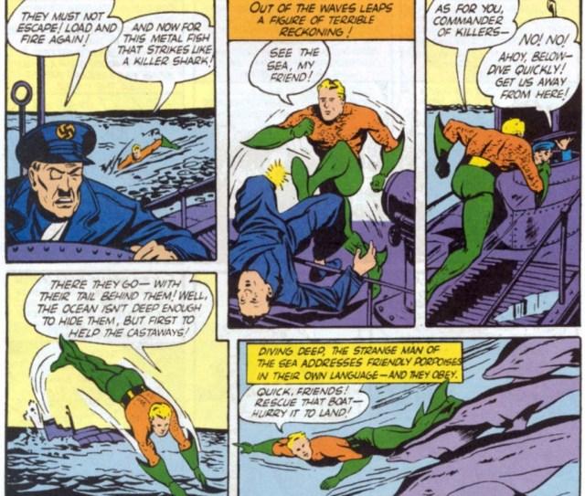 Aquaman 1st apparition 2