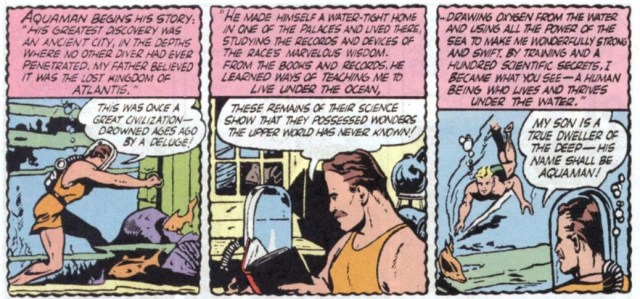 Aquaman 1st apparition 3