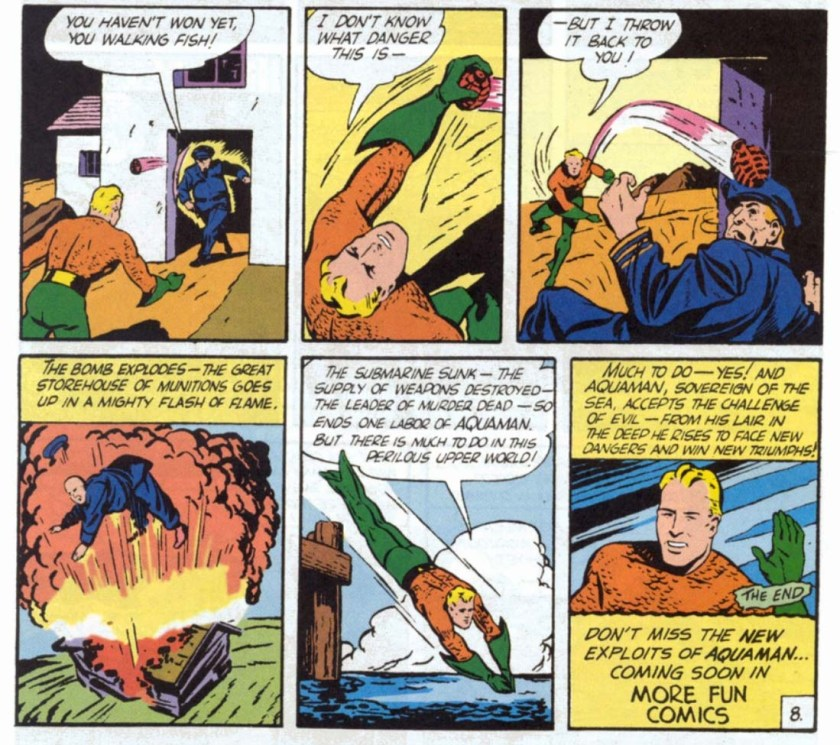 Aquaman 1st apparition 5