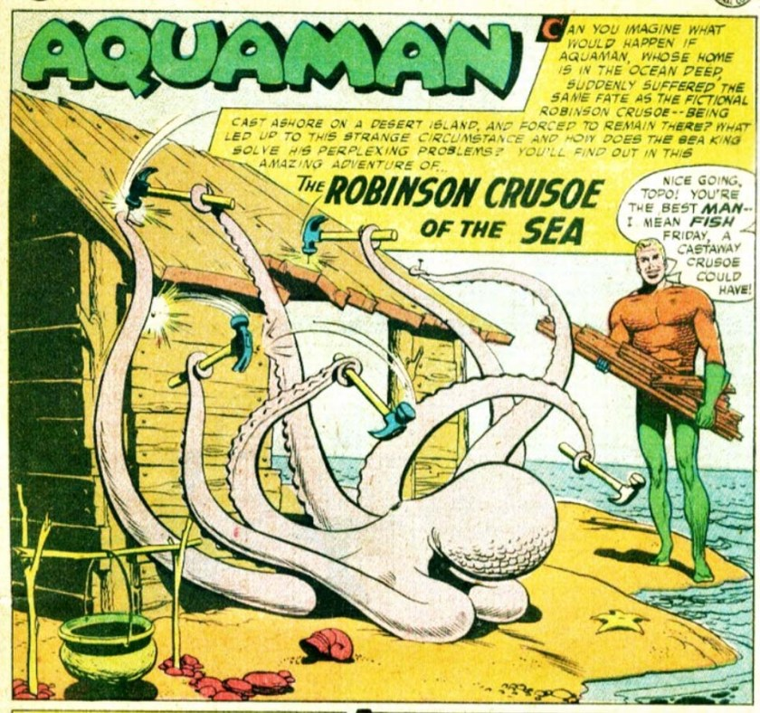 Aquaman & Topo