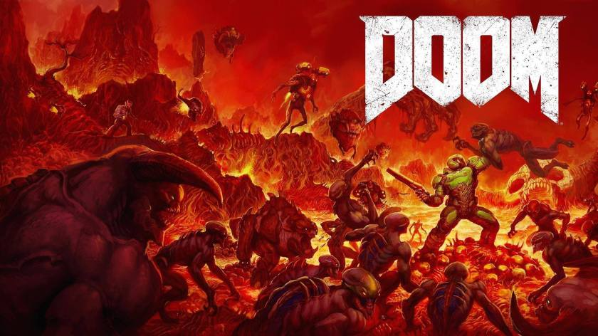 Doom id Software neoclassic cover