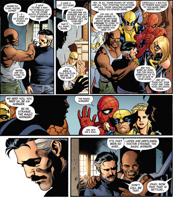 luke-cage-recruits-doctor-strange-to-the-new-avengers-1-brian-bendis