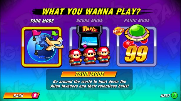 Pand Adventures Modes