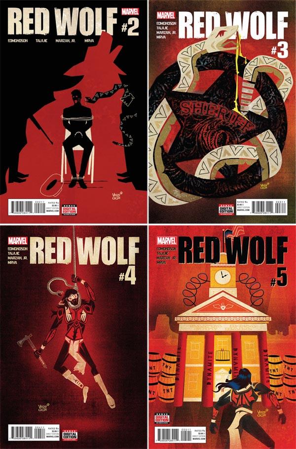 red-wolf-marvel-jeffrey-Veregge- covers-art