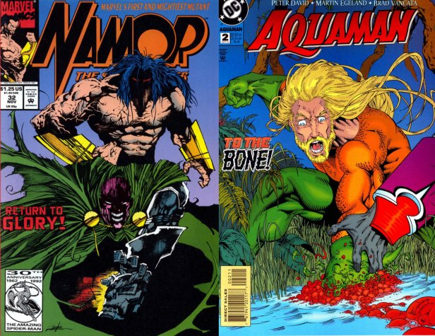 Savage Namor Savage Aquaman