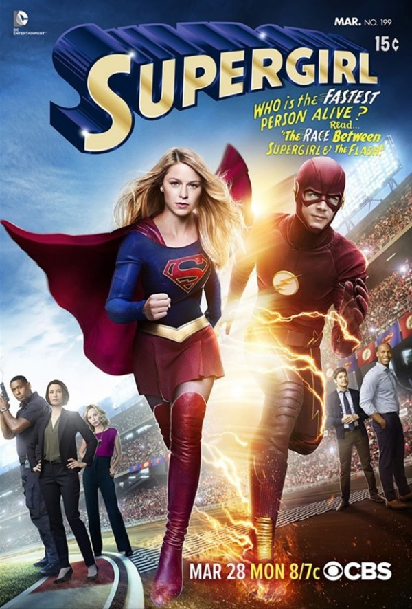 Supergirl-races-The-Flash-poster-worlds-finnest-cbs