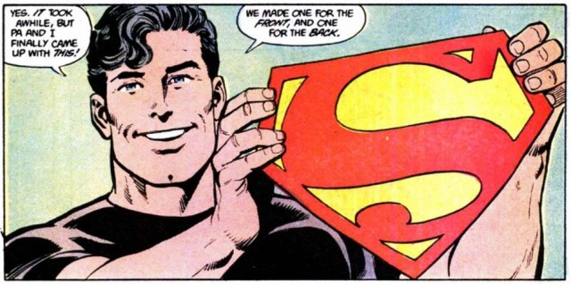 Superman Shield escudo Man of Steel Byrne