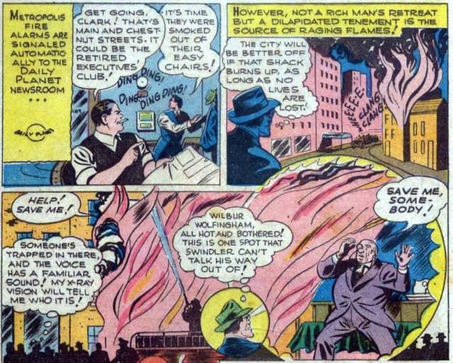 Superman y los caseros abusivos