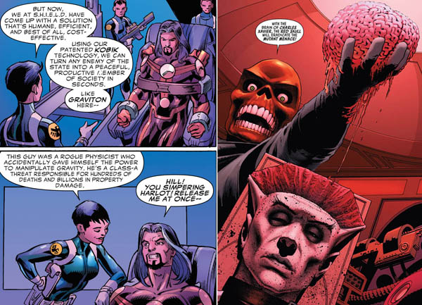 Avengers- Standoff-brainwash-cosmic-cube-red-skull-xavier-brain