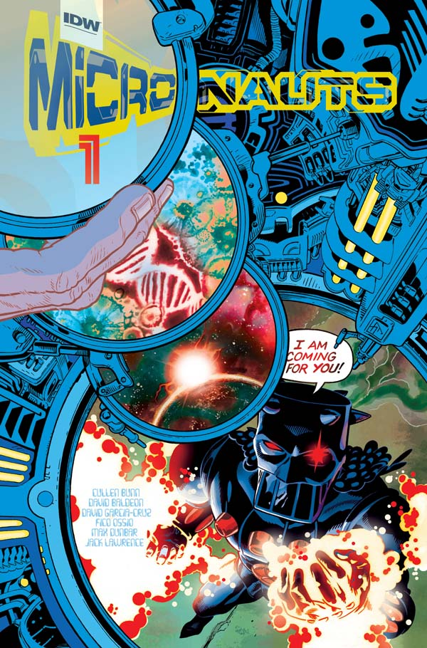 Micronauts -micronautas-IDW-cullen-bunn-david-baldeon-comic_
