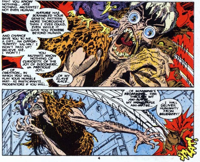 Animator Dr Animus New Mutants 60