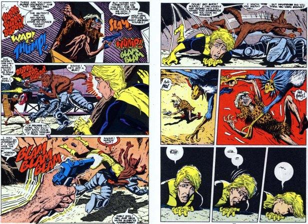 Death of Doug Ramsey New Mutants 60