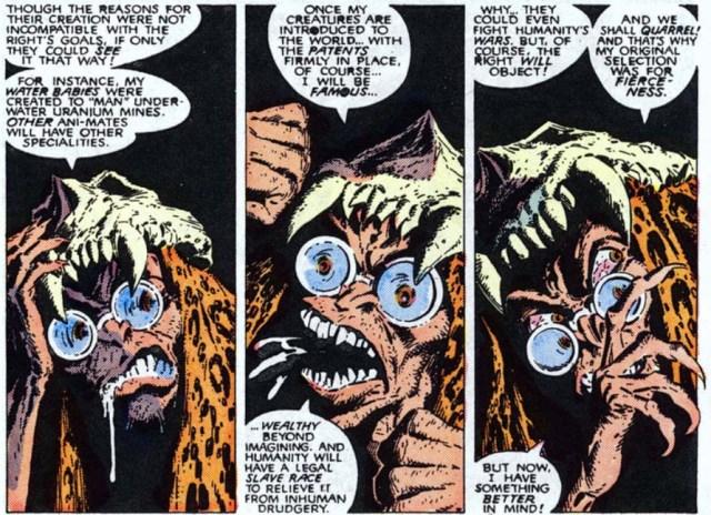 Dr Animus meditations New Mutants 60
