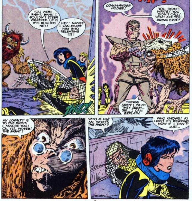Hodge mirage New Mutants 60