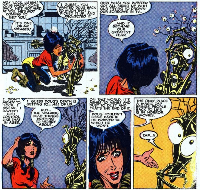 New Mutants 64 warlock dani