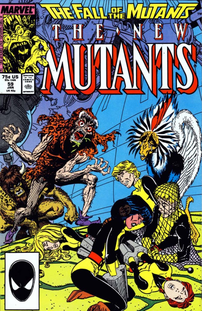 The New Mutants 59