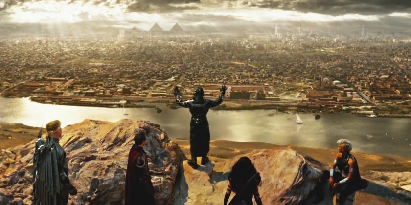 X-Men-Apocalypse Cairo Jinetes