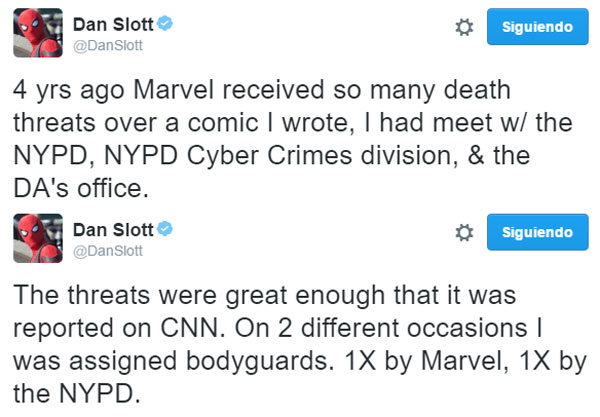 dan-slott-death-treaths-twitter
