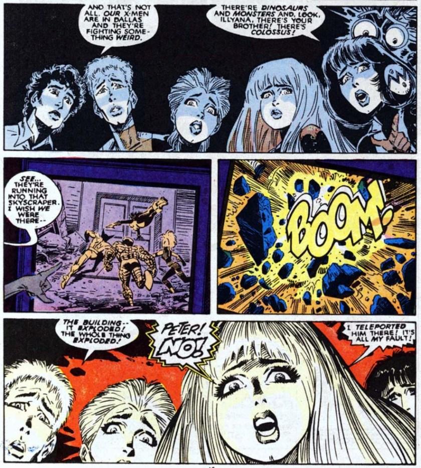 New Mutants 61 Death of the X-men