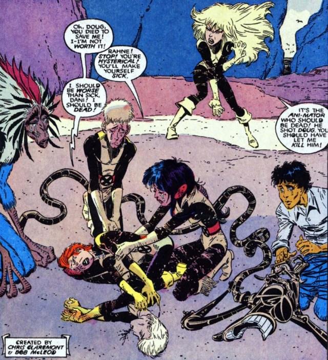 New Mutants 61 Douglas Ramsey dead