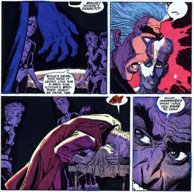 New Mutants 61 Magneto Doug dead
