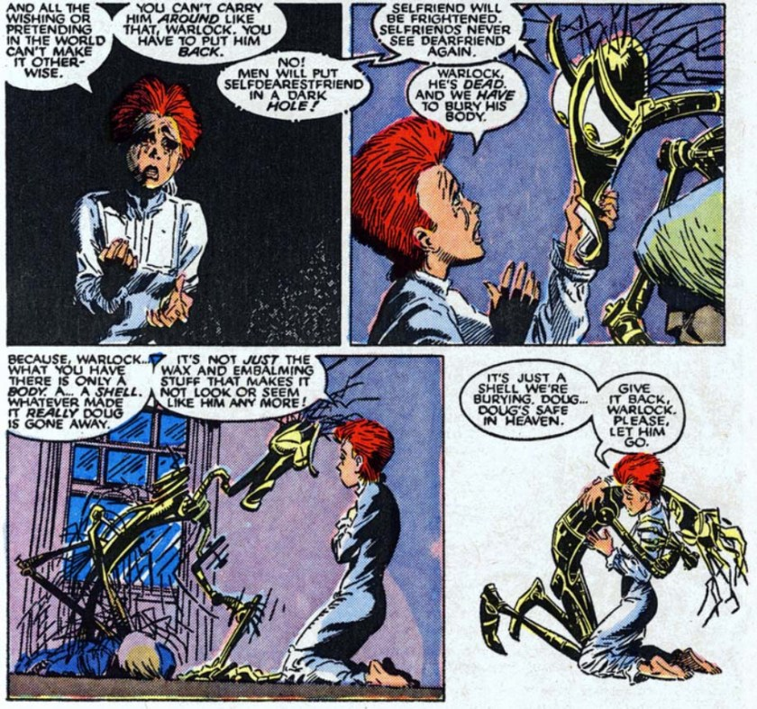 New Mutants 64 warlock rahne