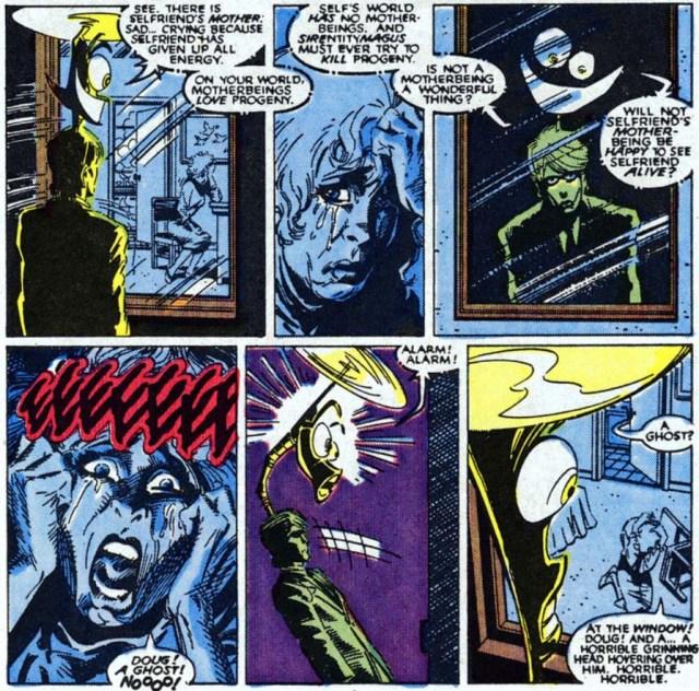 New Mutants 64 warlock zombie doug