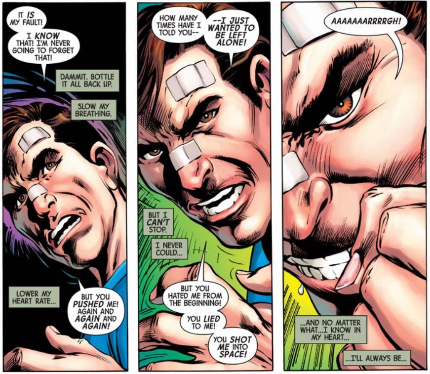 Totally Awesome Hulk Alan Davis hulking up