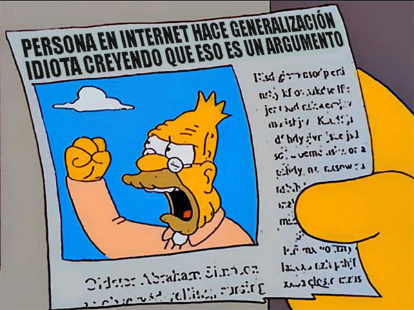 abe-simpson-periodico-newspaper-yelling-gritando-nube-cloud-argumento