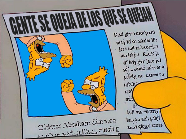 abe-simpson-periodico-newspaper-yelling-gritando-nube-cloud