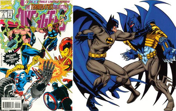 avengers_terminatrix_captain-america-usagent-thor-thunderstrike-iron-man-war-machine-batman-azrael-90s