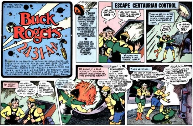 Buck Rogers strips