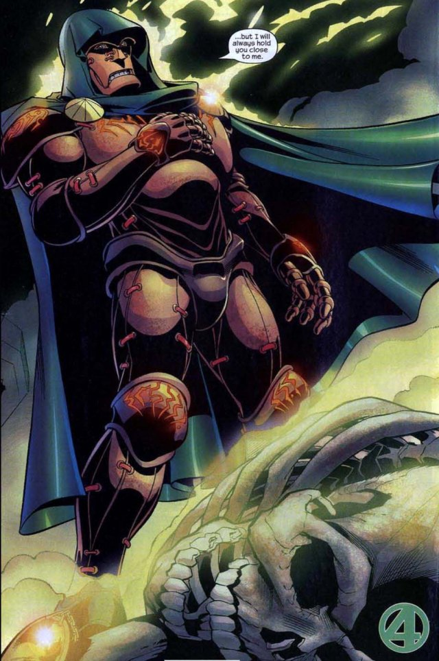 Fantastic Four 496 Unthinkable Doctor Doom meat suit