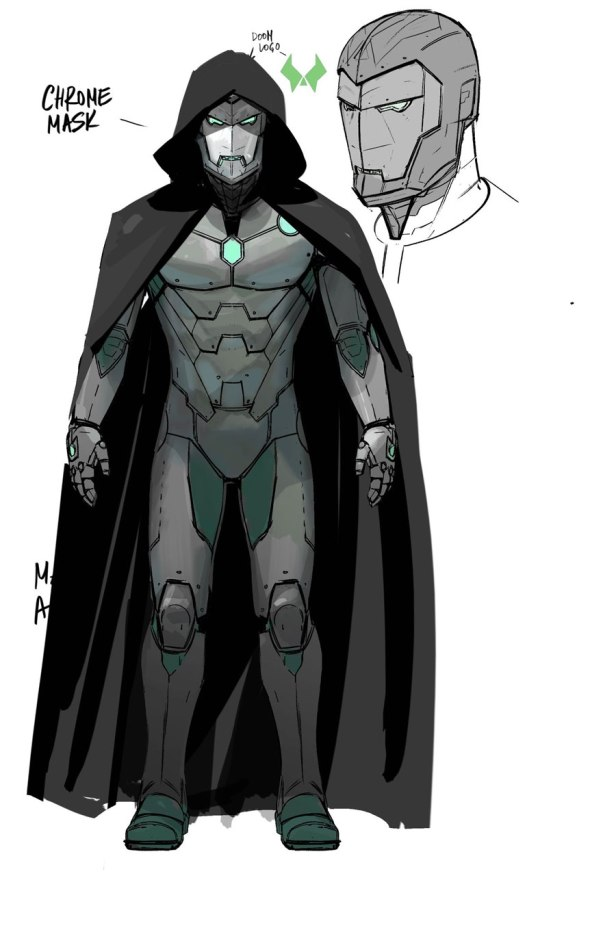 INFAMOUS IRON MAN concept doctor doom