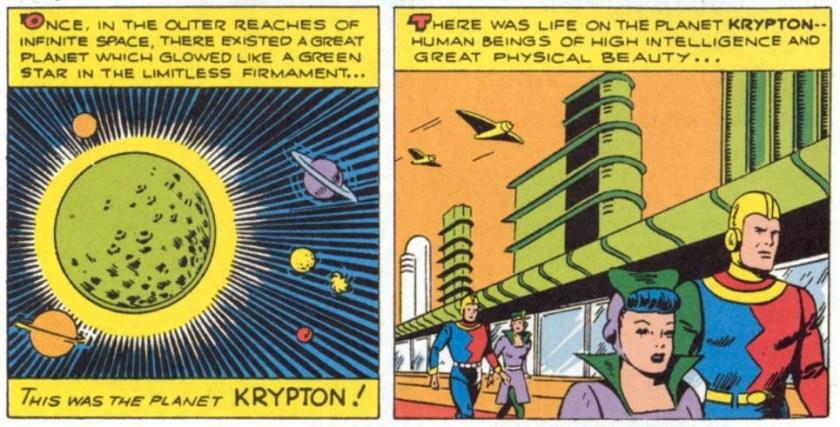 More Fun Comics 101 first jor el lara krypton