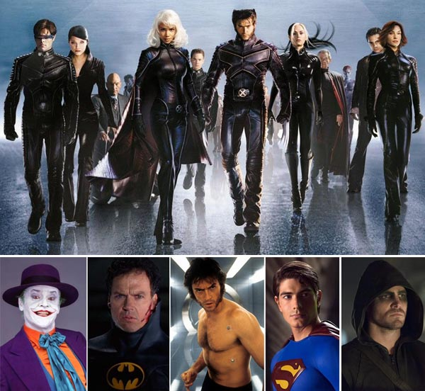 X-Men-Black-Leather-Costumes-michael-keaton-batman-jack-nicholson-joker-superman-wolverine-stephen-amell-arrow-beard