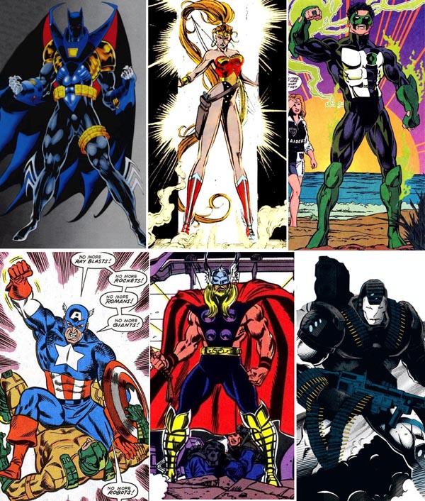 90s-heroes-jean-paul-valley-artemis-kyle-rayner-john-walker-eric-masterson-jim-rhodes