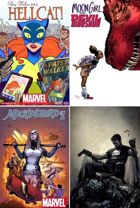 hellcat-mockingbird-moon-girl-devil-dinosaur-marvel-punisher