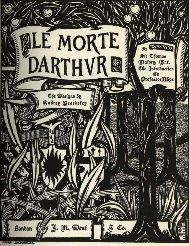 le-morte-d-arthur-aubrey-beardsley