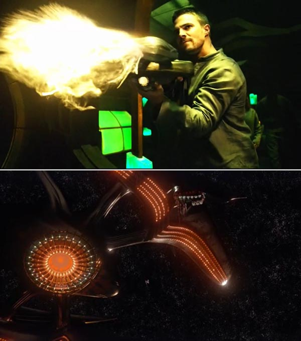 arrow-legends-of-tomorrow-cw-crossover-invasion-oliver-alien-weapon-sci-fi-fuck-realism