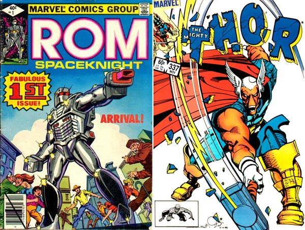 rom-spaceknight-beta-ray-bill-marvel-comics-brothers-como-hermanos-1