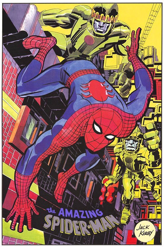 Jack Kirby Spider-Man