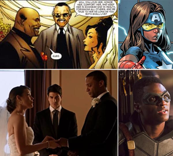 jessica-jones-luke-cage-diggle-lyla-wedding-connor-hawke-dani-cage