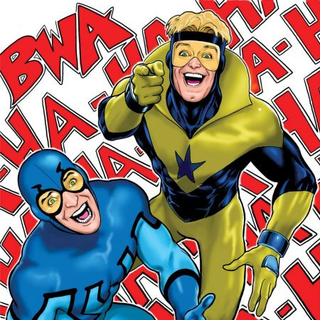 blue-beetle-and-booster-gold-kevin maguire