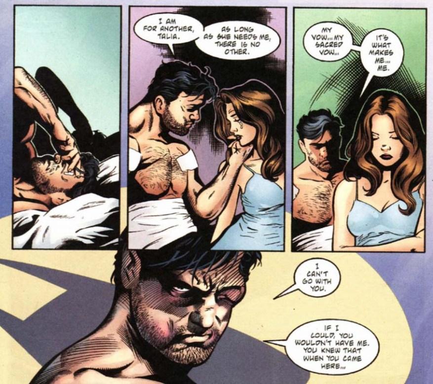 Batman No man's Land 0 Talia Bruce Wayne
